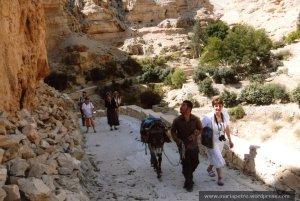 21 mai 2011, pustiul Hozevei, cu beduinul Raed