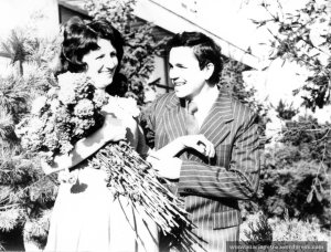 27 noiembrie 1976, cu Nae, la casatoria noastra