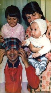 Familia Petre, octombrie 1985