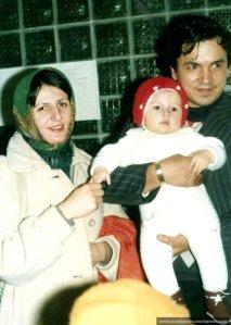 "Andi la prima intalnire cu Mos ""Gerila"", decembrie 1981"