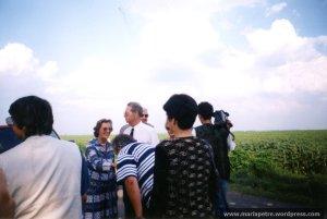 Intalnire cu Majestatea Sa Regele Mihai la Iazu, 1999