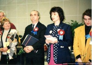 Lansarea primului Centru de Informatii pentru Cetateni din Romania, 1 martie 1996