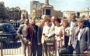 Vizita oficiala in Marea Britanie, 1995