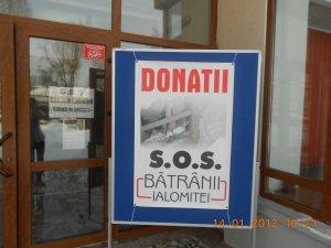 Poster campanie SOS Batranii Ialomitei