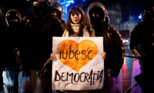 Iubesc Democratia, foto Antena 3